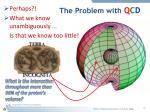 the problem with q c d