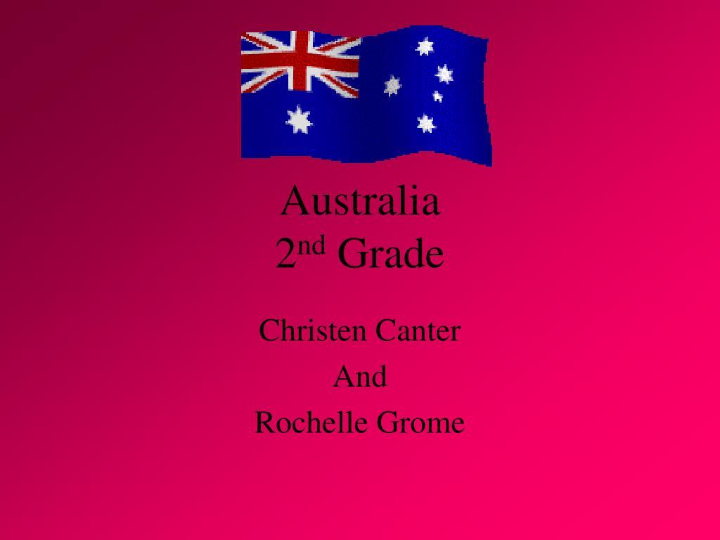 australia 2 nd grade l.