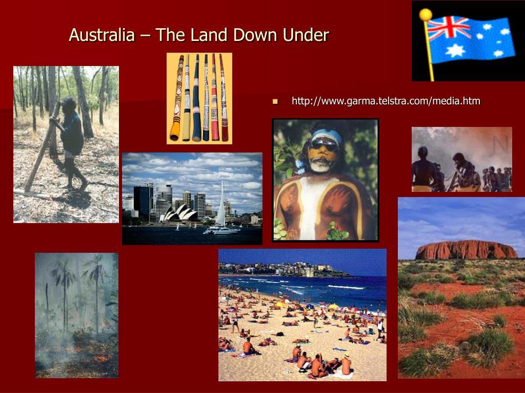 australia the land down under l.