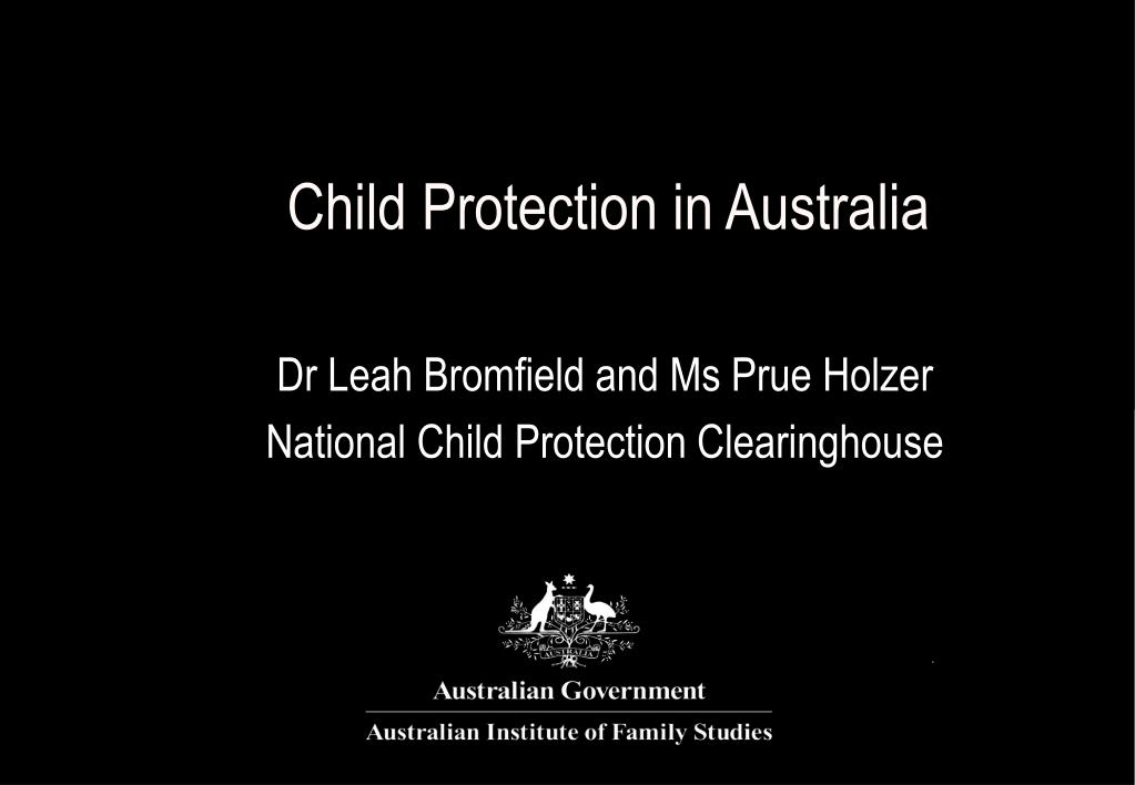 child protection in australia l.