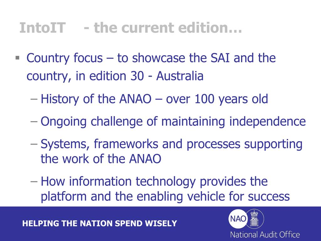 IntoIT- the current edition…
