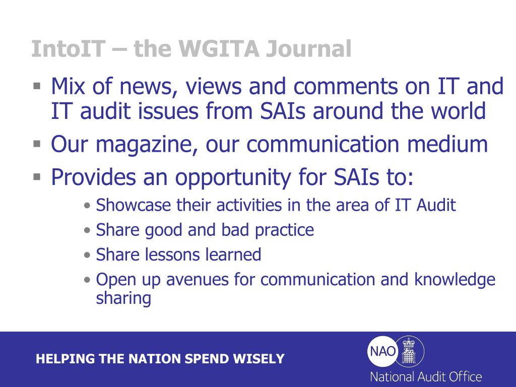 IntoIT – the WGITA Journal