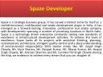 spaze developer