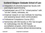scotland glasgow graduate school of law
