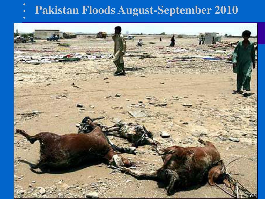 Pakistan Floods August-September 2010