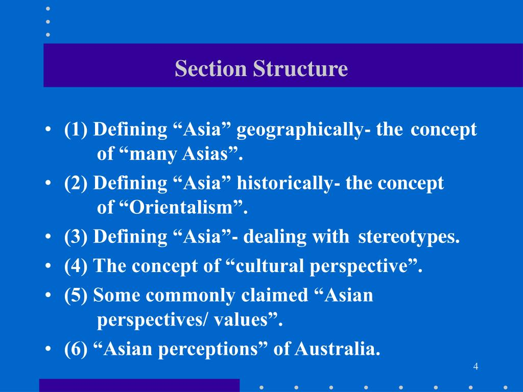 Section Structure