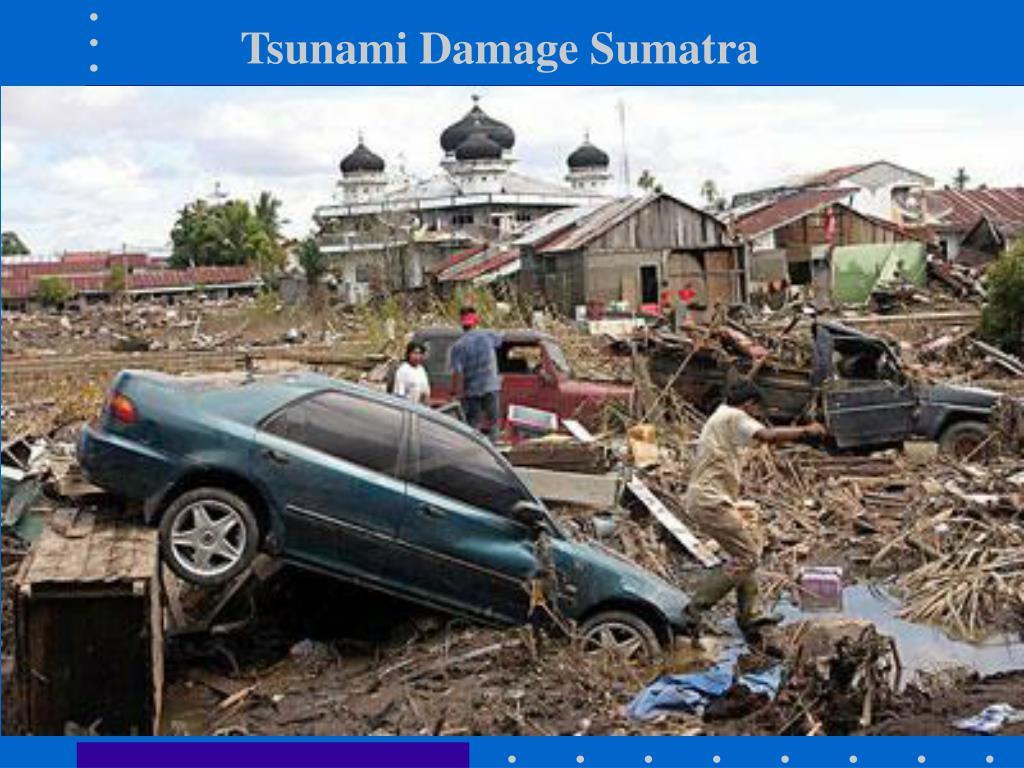 Tsunami Damage Sumatra