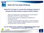 airbus fly your ideas challenge