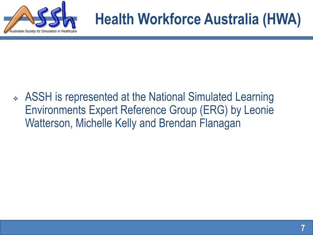 Health Workforce Australia (HWA)