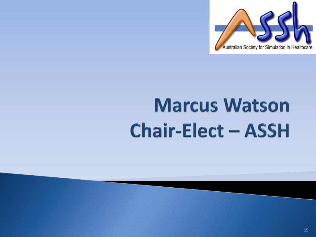 Marcus Watson