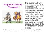 knights chivalry the joust