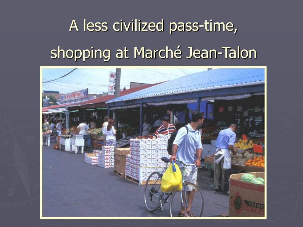A less civilized pass-time,