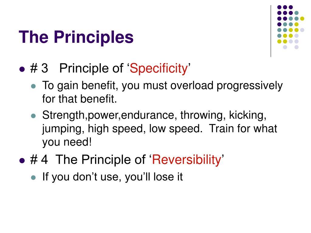 The Principles