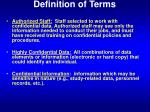 definition of terms1