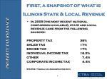 illinois state local revenue
