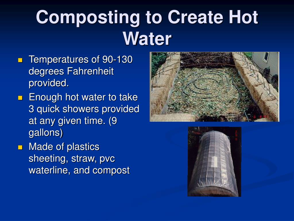Composting to Create Hot Water