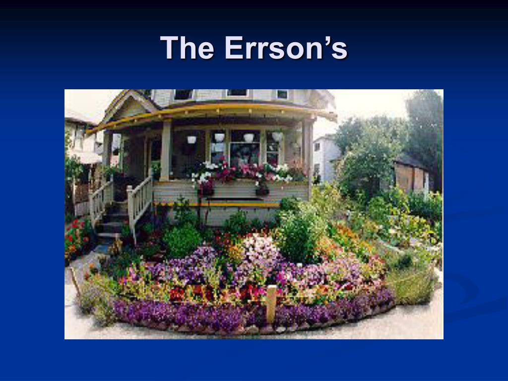 The Errson's