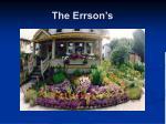 the errson s