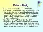 visitor s book20