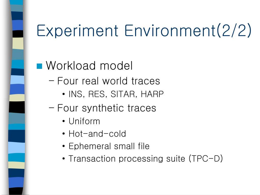 Experiment Environment(2/2)