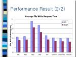 performance result 2 2