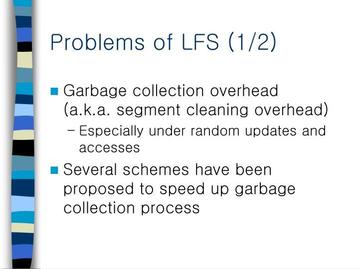 Problems of lfs 1 2