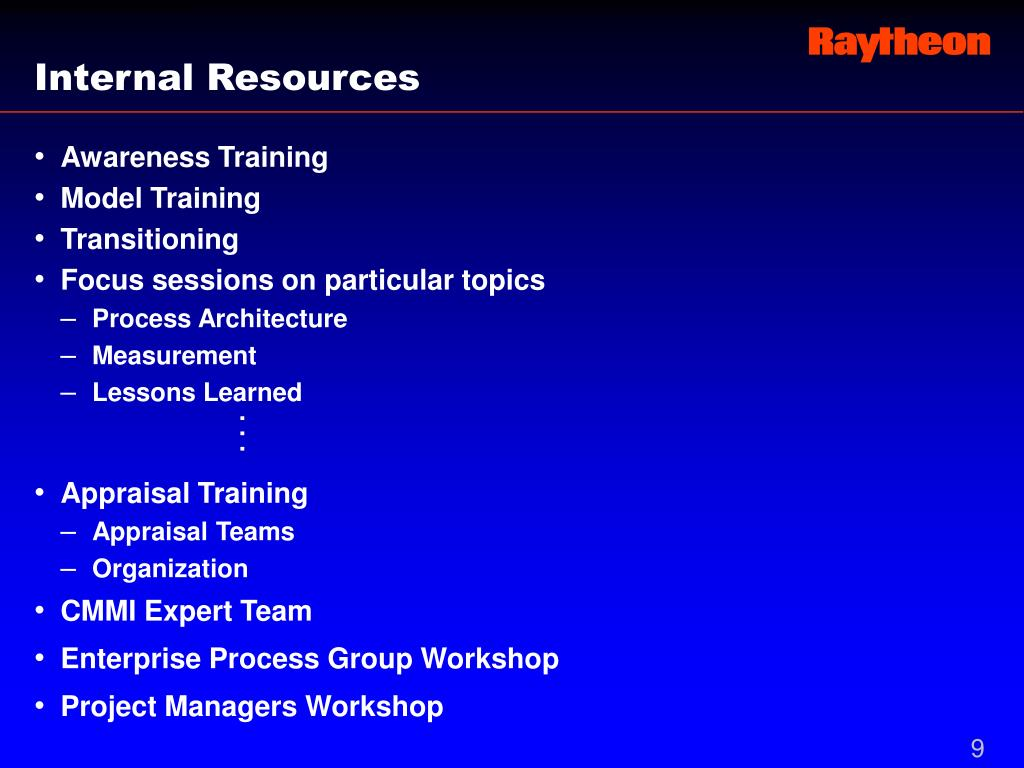 Internal Resources