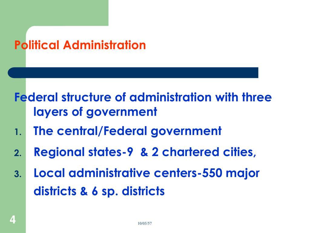 Political Administration