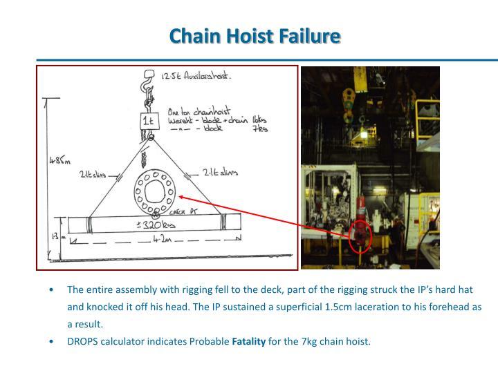 Chain hoist failure1