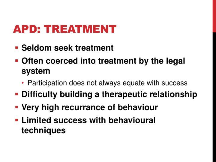 APD: Treatment