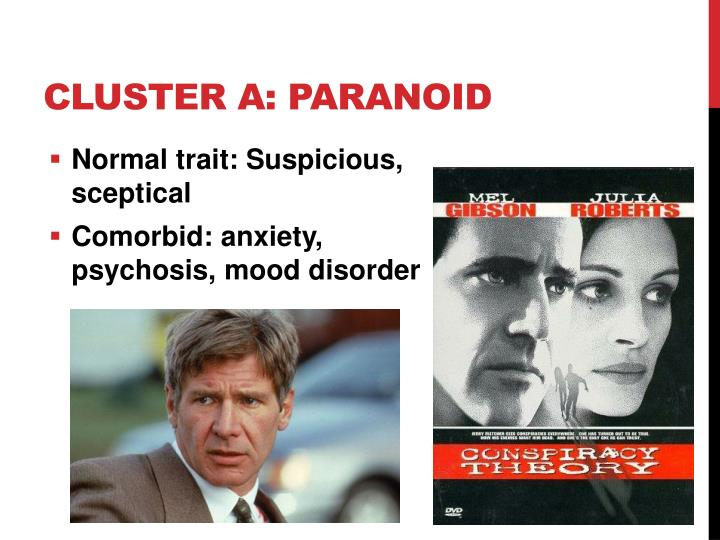 Cluster A: Paranoid