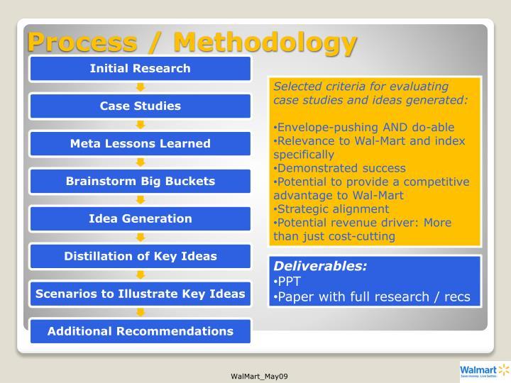 Process / Methodology