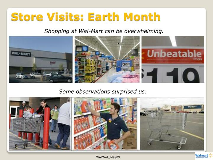 Store Visits: