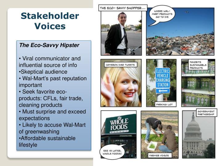 Stakeholder Voices