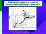 earthquake hazards issue for ethiopian engineering community5