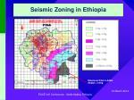 seismic zoning in ethiopia10