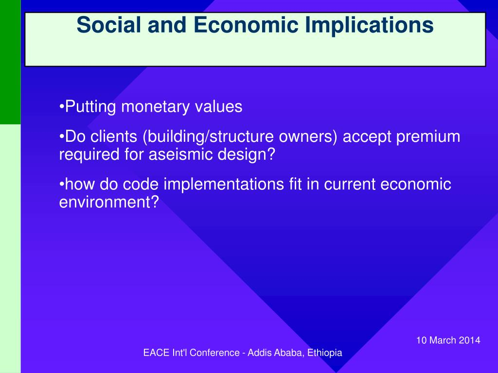 Social and Economic Implications