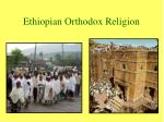ethiopian orthodox religion