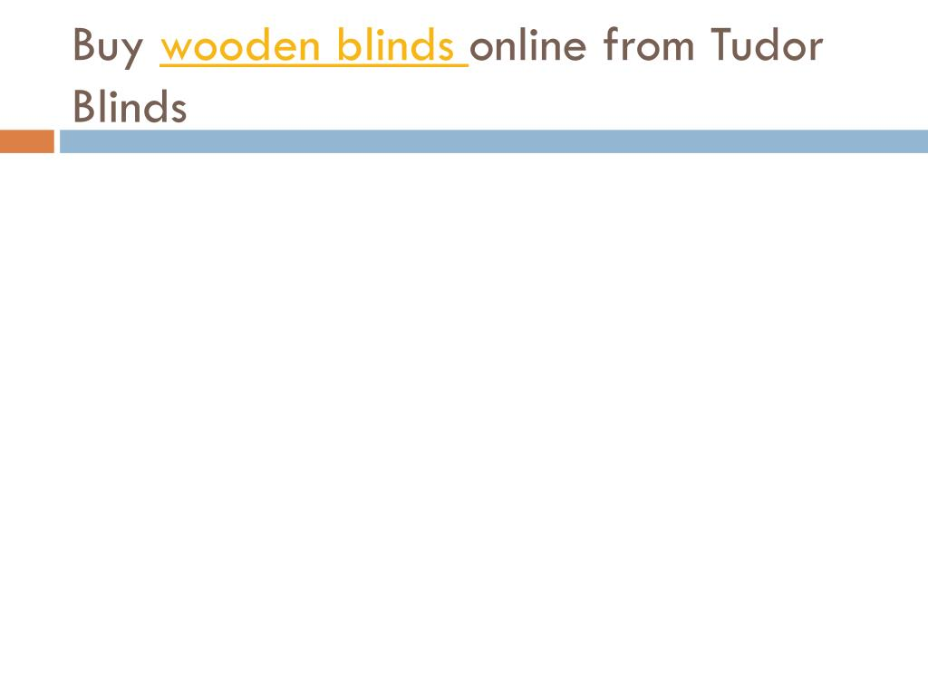 buy wooden blinds online from tudor blinds l.