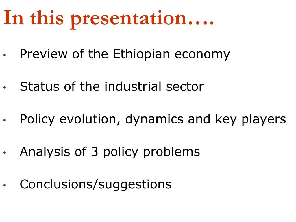 In this presentation….