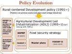 policy evolution
