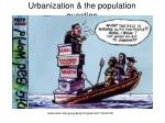 urbanization the population question3