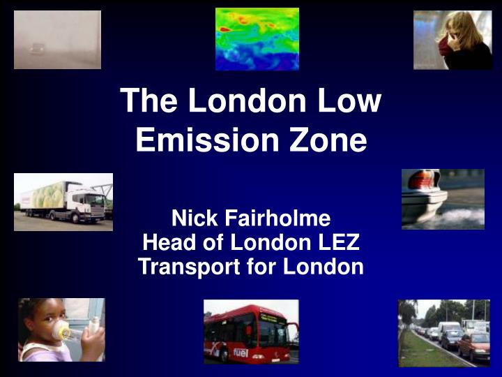 the london low emission zone n.
