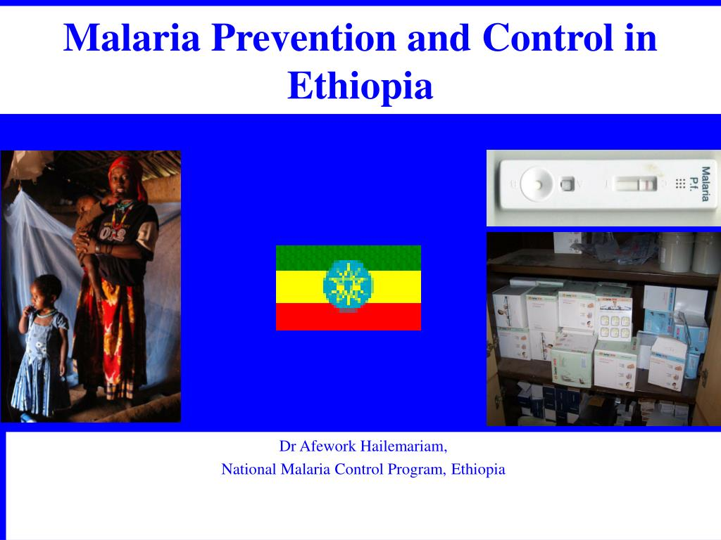 malaria prevention and control in ethiopia l.