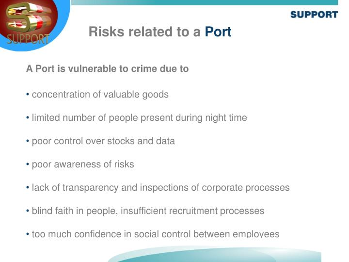 Risks related to a