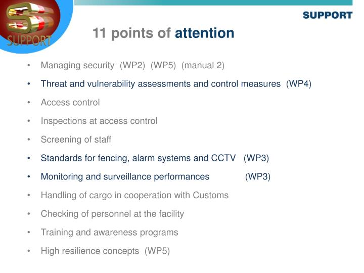 Managing security  (WP2)  (WP5)  (manual 2)