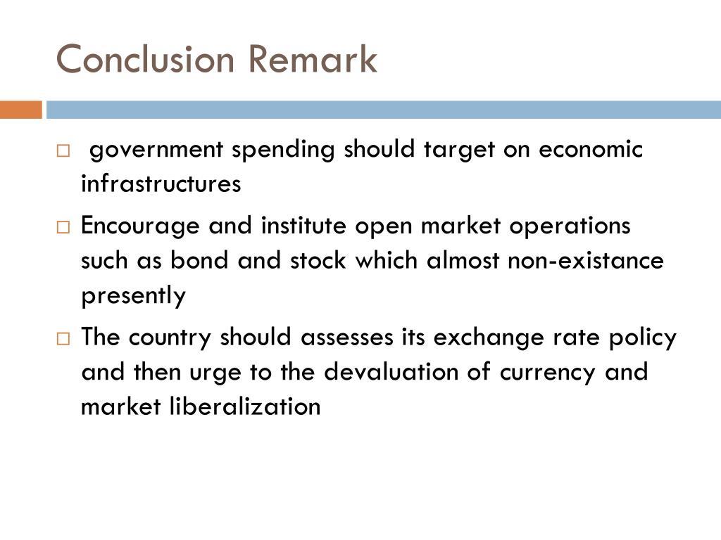 Conclusion Remark