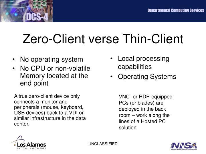 Departmental Computing Services