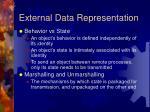 external data representation
