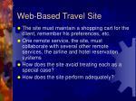 web based travel site1
